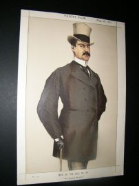 Vanity Fair Print 1871 Don Manuel Rances Villanueva